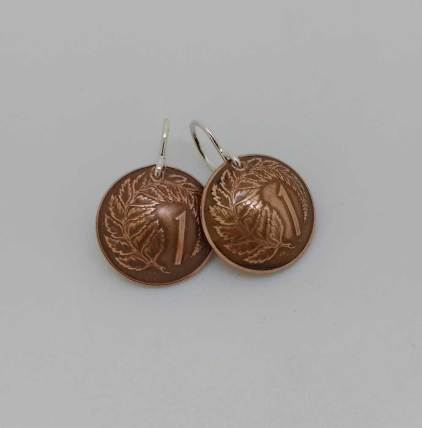 New-Zealand-1-cent-fern-copper-coin-earrings-1