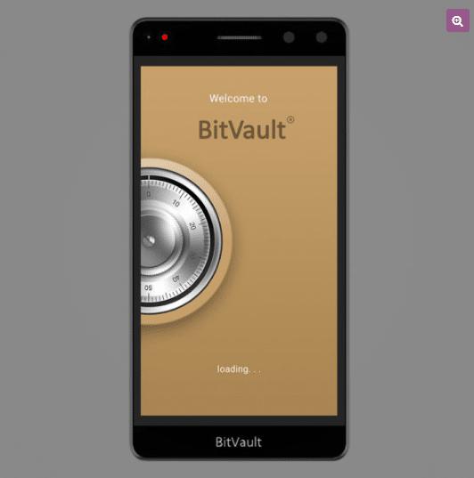 BitVault blockchain smartphone