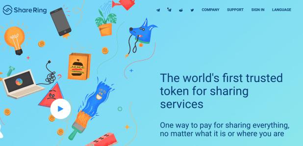 ShareRing homepage