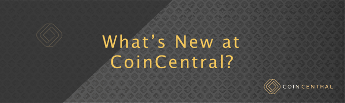 whats new at coincentral