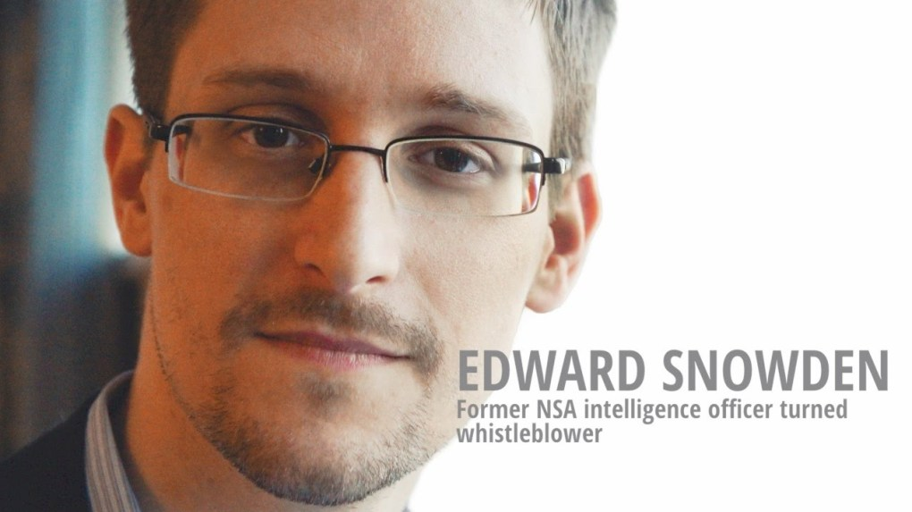 Edward Snowden via YouTube