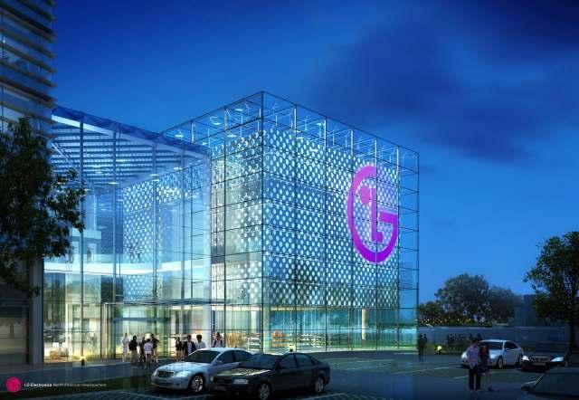 LG Headquarters via Architizer