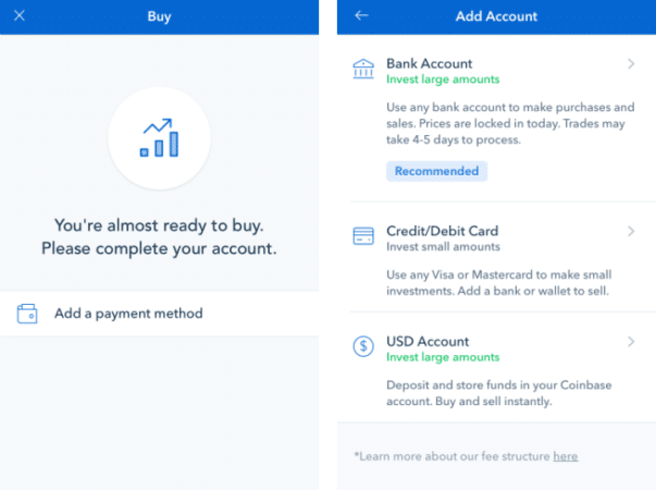 Select your preferred payment method