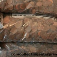 204 pounds copper pennies
