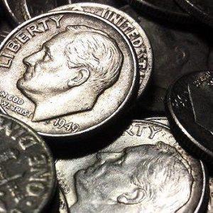 Silver Roosevelt Dimes