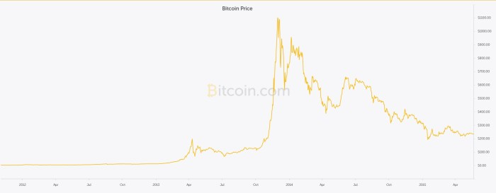 when will the bitcoin bubble burst
