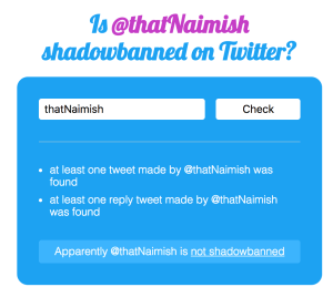 how to not get shadow banned on twitter