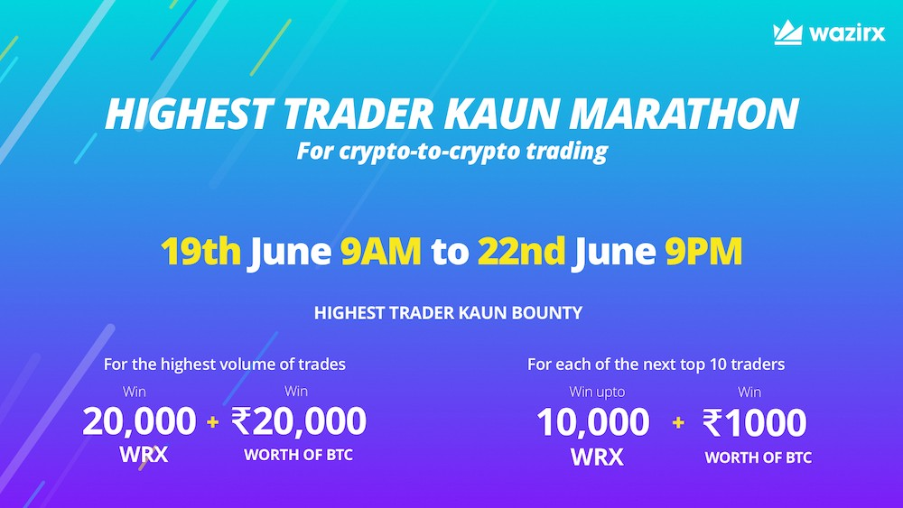 trading competition wazirx