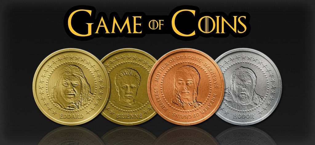game of thrones themed coins