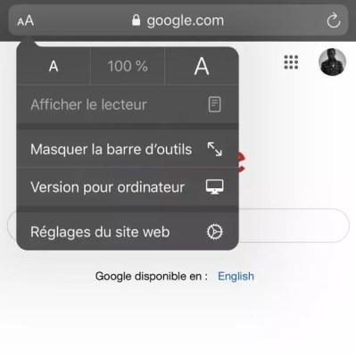 recherche par image google iphone