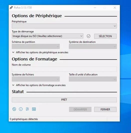logiciel rufus