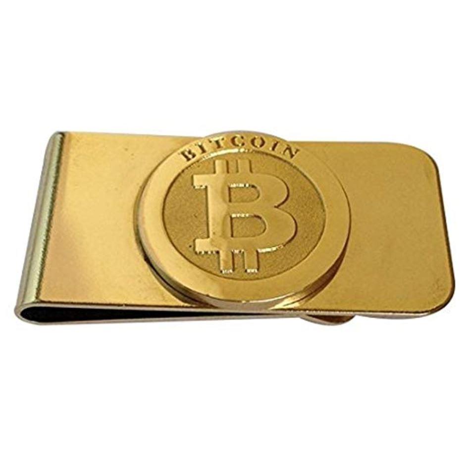 Bitcoin Geldklammer