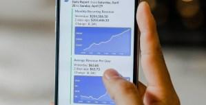 cryptocurrency op mobiel