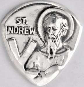 St Andrew sterling coin 1