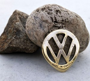 Vintage Volkswagen Key 1 Coin Guitar Pick, Coin Guitar Picks
