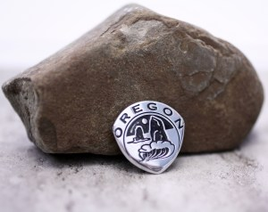 Oregon Token Coin Guitar Pick, Coin Guitar Picks