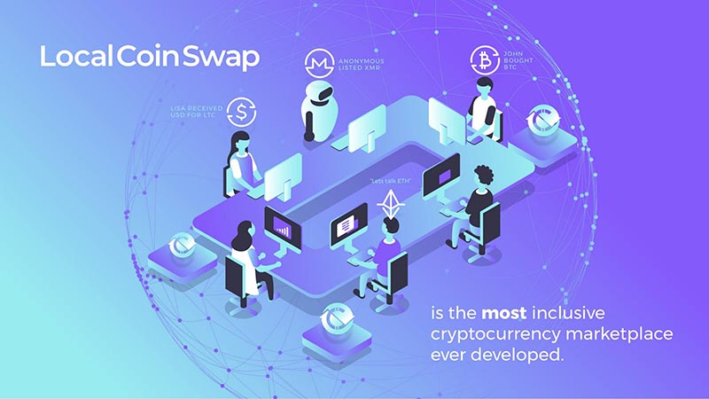 Local Coin Swap, the decentralized P2P crypto marketplace owned by ...