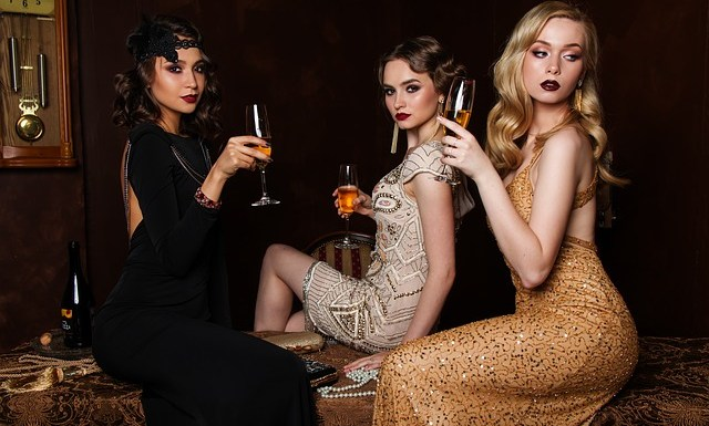 luxury party women