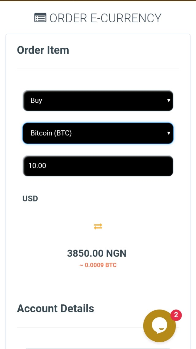 Buy or sell e-currency on Naira2usd
