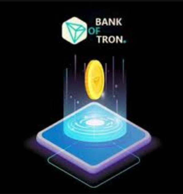 Bank of tron smart contract