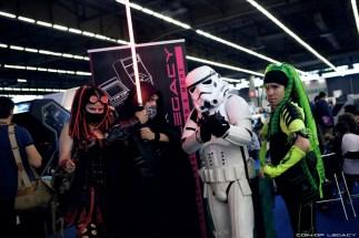 Les fans de Star Wars sont partout à la Japan Expo