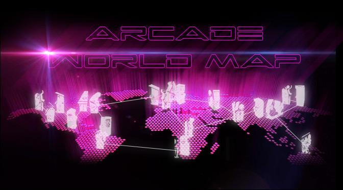 (ARCADE) WORLD MAP