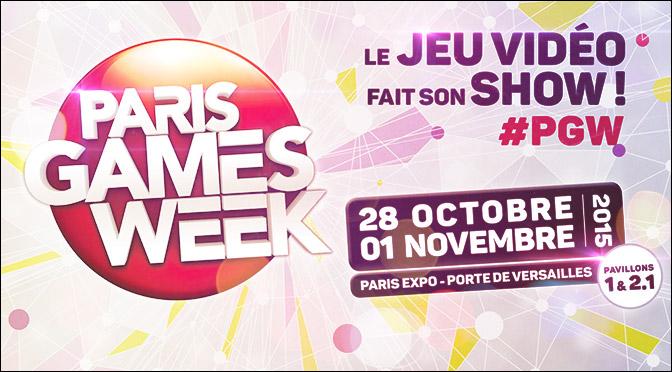 PARIS GAMES WEEK 2015 : BILAN