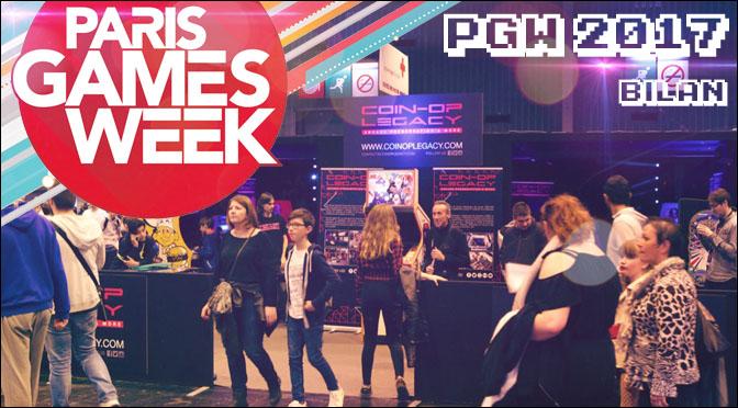 PARIS GAMES WEEK 2017 : BILAN