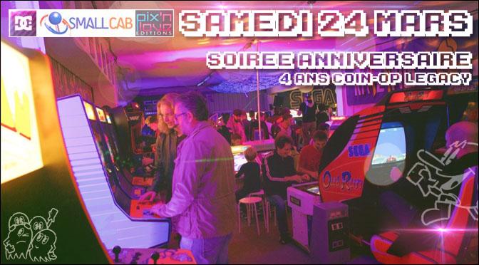 NEWS COL ET PROCHAINE SOIRÉE LE 24 MARS !!!