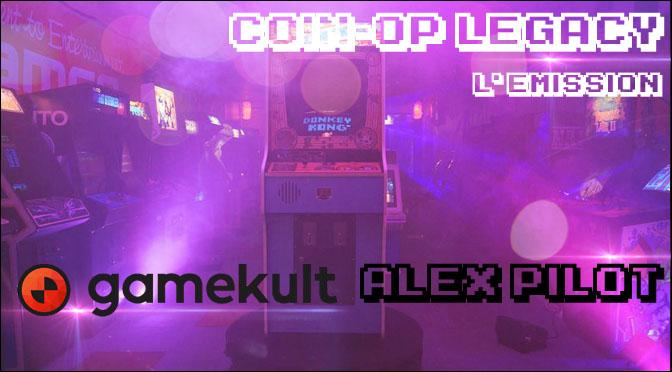 COIN-OP LEGACY, la nouvelle émission pour GAMEKULT