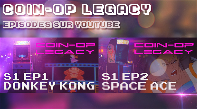 Les émissions Donkey Kong & Space Ace sur YouTube