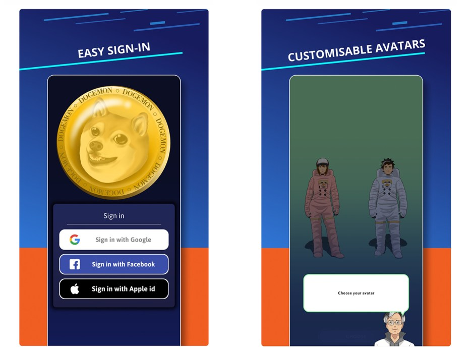 Augmented Reality-Based Dogemon Go Mobile Game Allows Players to Earn Dogecoin