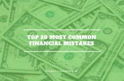 Top 20 Most Common Financial Mistakes