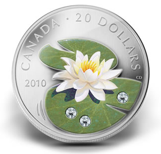 2010-20-DOLLAR-WATER-LILY-FINE-SILVER-COIN