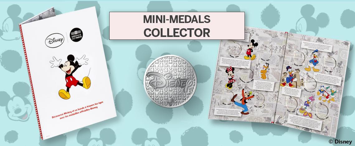 μινι μετάλλια Μικυ