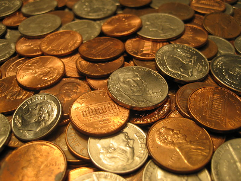 Pennies, Nickels and Dimes