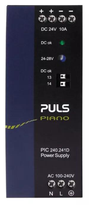 Fuente de poder PULS PC10.241D en coinsamatik 3 e1628788673880