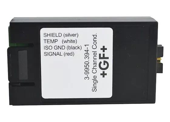 GF SIGNET Módulo de conductividad resistencia directa de un solo canal 9950 en COINSAMATIK