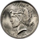 Artist's conception of the 1964-D Peace dollar, the #1 coin on the new PCGS Top 100 Modern U.S. Coins list.