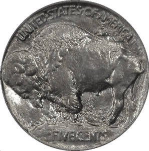 1913 Buffalo Nickel Type 1 Reverse