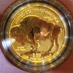 We should keep the 24-karat gold Buffalo coins, too!