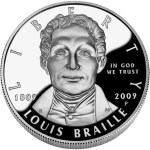 Louis Braille was not American nor did he do his work in America, but congress authorized a commemorative issued in 2009