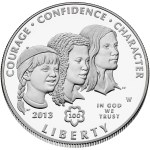 2013 Girl Scouts of the USA Centennial commemorative coin