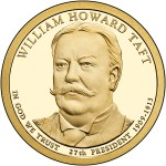 2013 William Howard Taft $1 Coin
