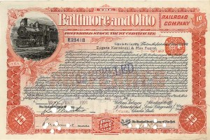 Baltimore & Ohio Railroad.