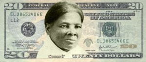 Mockup of the $20 note featuring Harriet Tubman