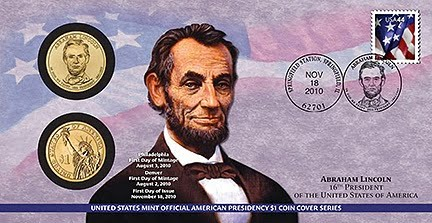 2010 Lincoln First Day Cover (before branding)