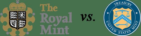 Royal Mint v US Mint