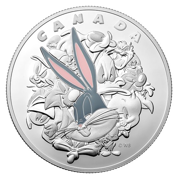 2015 Canadian Bugs Bunny 1 kilogram silver proof coin
