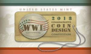 US Mint 2018 WWI Design Competition